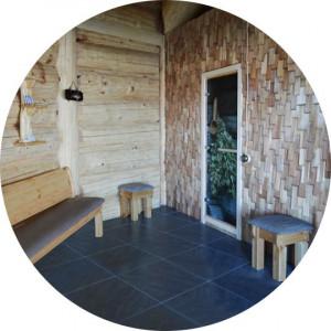 Мебель под старину для предбанников и комнат отдыха