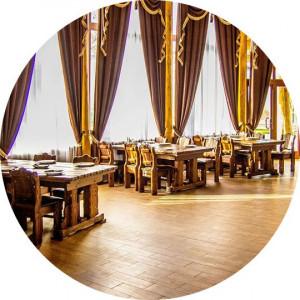 Мебель для гостиниц и ресторанов в старорусском стиле