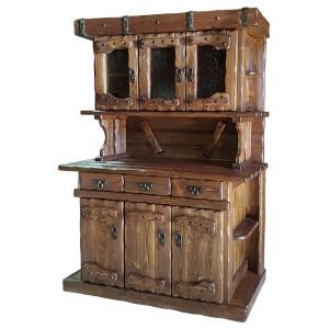 Шкафы и буфеты под старину из массива сосны
