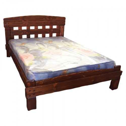 """Кровать из массива сосны под старину """"Барин 1"""""""