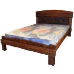 """Кровать """"Барин 2"""" с мягкой спинкой"""
