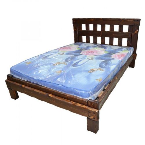 """Кровать из массива сосны под старину """"Купец 1"""""""