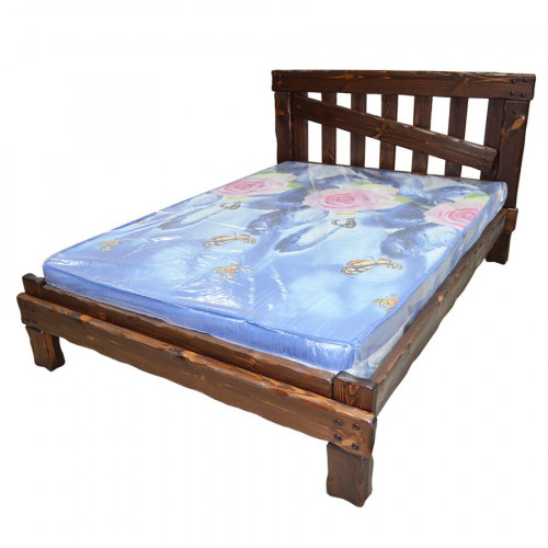"""Кровать из массива сосны под старну """"Медведь"""""""