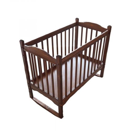"""Кровать детская из массива сосны под старину """"Машенька"""""""