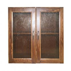 "Ящик навесной ""Классика"" (2 двери) стекло"