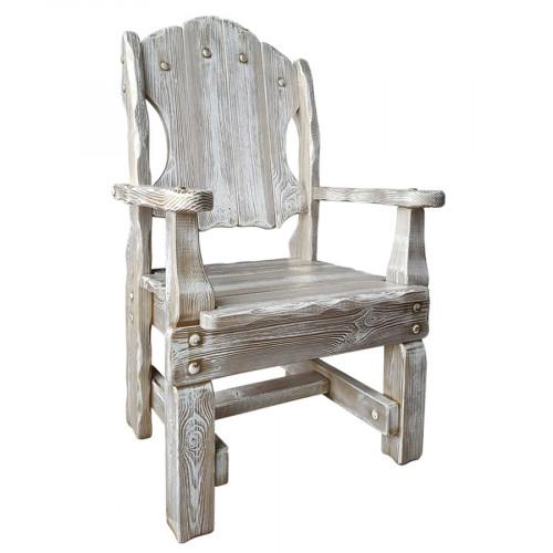 """Кресло из массива сосны под старину """"Добряк"""""""